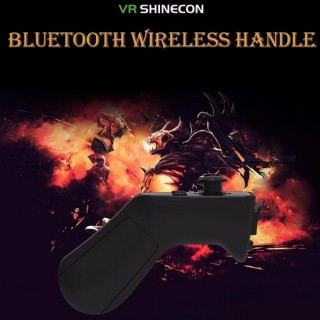 Shinecon2 Wireless Bluetooth Gamepad VR Controller Ios Android Black