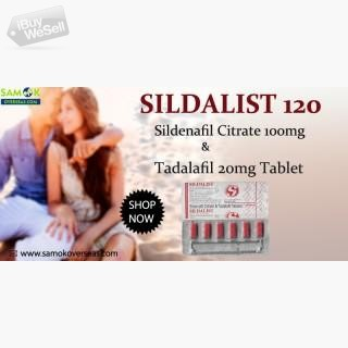 Sildalist 120 Tablets