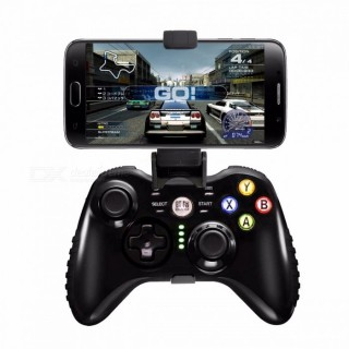 Smart 2.GHz Wireless Bluetooth Game Controller Gamepad Dualshock Analog Joypad For Android Phones Bl