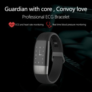 Smart Bracelet IP67 Waterproof Fitness Tracker with ECG Monitor Pedometer Sports Wrist Band Watch fo
