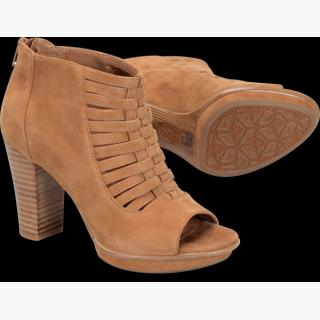 Sofft Renita : Golden Tan Suede - Womens