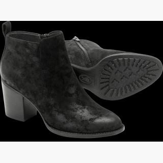Sofft Ware : Black Suede - Womens
