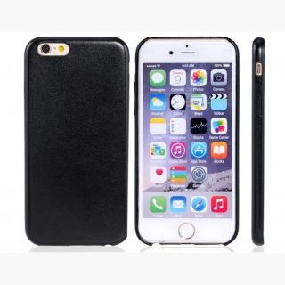 Soft Faux Leather Protective Case for 5.5 & quot;  iPhone 6 Plus/iPhone 6S Plus (Black)