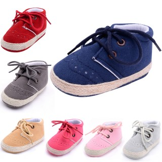 Solid Color Casual Shoes Baby Shoes Girls Boys Shoes Soft Casual Baby Shoes