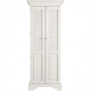 Stanley Furniture Summerhouse Utility Cabinet in Saltbox White USA