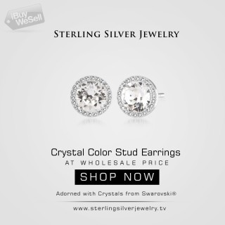 Sterling Silver Jewelry Gemstone Earrings Wholesale Online