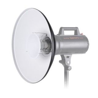 Studio Photography 55cm/22 Inch Black & White Speedlite Strobe Lighting Diffuser Beauty Dish Lampsha