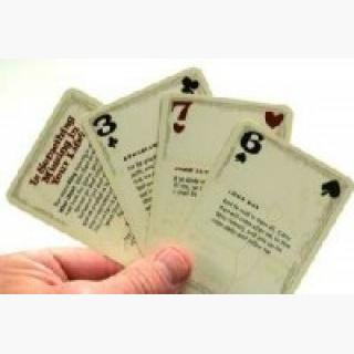 Suit Of Armor Scripture Playing Cards (KJV)