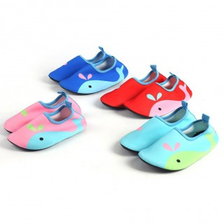 Summer children Beach Shoes Outdoor Swimming Water Shoes Unisex Soft Seaside Wading Shoes lightweigh