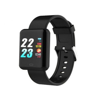 TOLEDA B8Pro Bluetooth 4.0 Rectangle Smart Watch Fitness Tracker