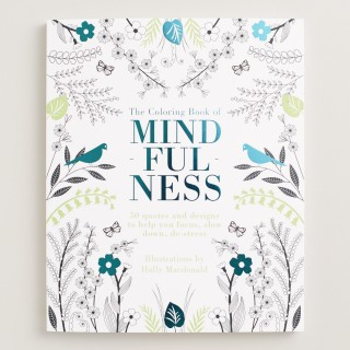 The Mindfulness Coloring Book by World Market