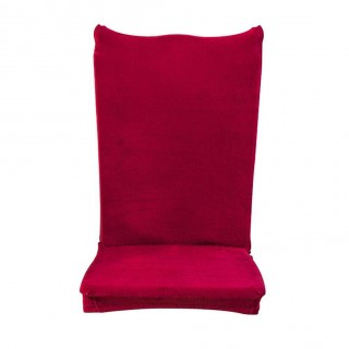 Thick Plush Elastic Chair Cover Banquet Seat Cover Chair Wrap Hotel Gift(2)
