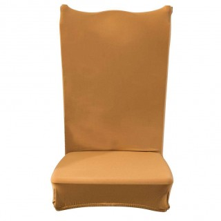 Thin Elastic Chair Cover Banquet Seat Sleeve Chair Wrap Home Hotel Decor(1)