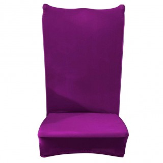 Thin Elastic Chair Cover Banquet Seat Sleeve Chair Wrap Home Hotel Decor(2)