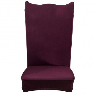 Thin Elastic Chair Cover Banquet Seat Sleeve Chair Wrap Home Hotel Decor(3)