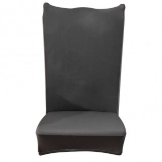 Thin Elastic Chair Cover Banquet Seat Sleeve Chair Wrap Home Hotel Decor(4)