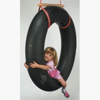 Tire Swing With Suspension Accessible Swing