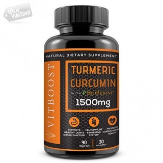 Turmeric Curcumin with BioPerine for fast chronic Pain