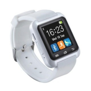 U80 Bluetooth Smart Watch Pedometer Health Tracker For Android White