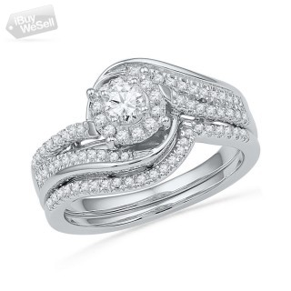 Unique Bridal Diamond Ring on Sale