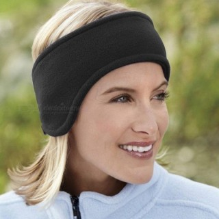 Unisex Polar Fleece Ear Warmer Ear Muff Ski Head Band Polar Fleece Ski Ear Muff Unisex Stretch Spand