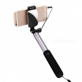 Universal Extendable Selfie Stick Monopod for Android IOS - Grey