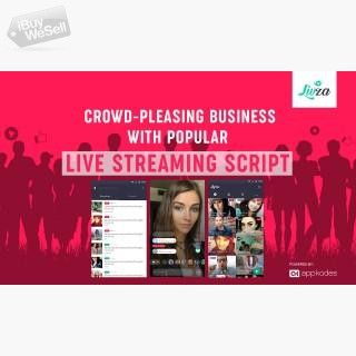 Utilize Our Live Streaming Script - Appkodes Livza