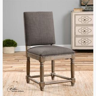 Uttermost Laurens Accent Chair in Gray
