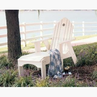 Uwharrie Chair 1081-089 Original Outdoor Chaise Lounge Chair Black