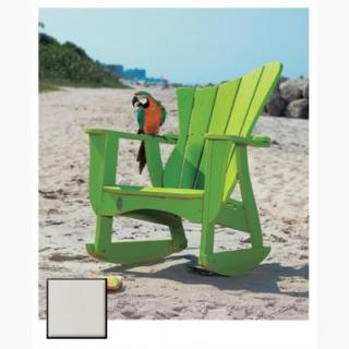 Uwharrie Chair 7012-013-RSF Wave Rocking Chair White