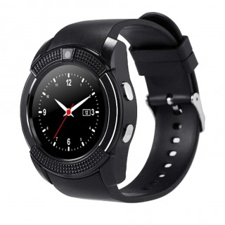 V8 1.22inch Smart Watch Support TF SIM Card Bluetooth Smartwatch For Phone