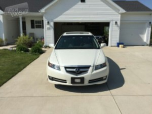 Very Clean 2008 Acura TL 3.2  Navigation