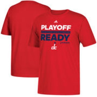 Washington Wizards adidas 2017 NBA Southeast Division Champions Playoff Ready Locker Room T-Shirt -