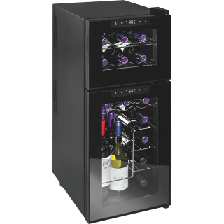 Wine Enthusiast 21 Bottle Dual Zone Thermoelectric Wine Cooler ( Contact me )