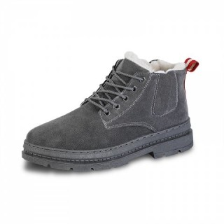 Winter Boots Men Shoes Fashion Warm Shoes Winter Men XH666