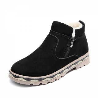 Winter Shoes Men Leather Winter Warm Ankle Boots Men Warm Casual Men Boots with
