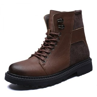 Winter Shoes Men Winter Boots Male Leather Boots UK