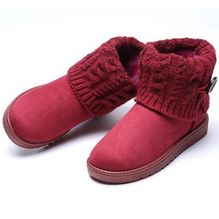 Winter Women Snow Boots Suede Australia Warm Ankle Boots Female Winter Shoes Chaussure Femme