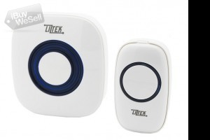 Wireless Doorbell with Plug In Receiver