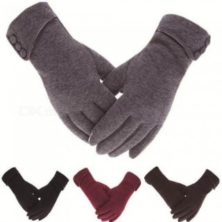 Women Men Touch Screen Winter Gloves Autumn Warm Gloves Wrist Mittens Driving Ski Windproof Glove