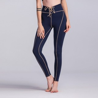 Women Yoga Sports Pants Leggings High Waist Running Tights Fitness Workout Skinny Pants