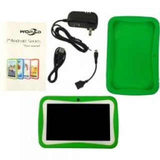 Worryfree gadgets wfg-kids7-green 7in android 4.4 dual core USA