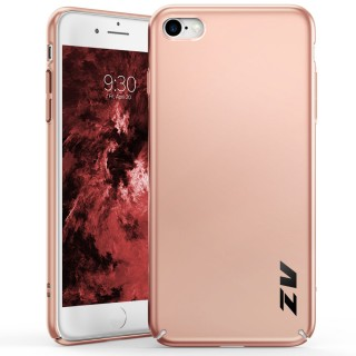 ZV THIN Series iPhone 8 / 7 Case - Ultra Slim, Lightweight and Scratch Resistant (Rose Gold Matte)