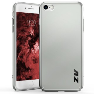 ZV THIN Series iPhone 8 / 7 Case - Ultra Slim, Lightweight and Scratch Resistant (Silver Matte)