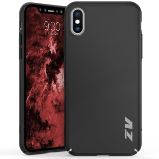 ZV THIN Series iPhone X Case - Ultra Slim, Lightweight and Scratch Resistant  (Black Matte)