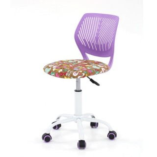 iKayaa Fashion Adjustable Fabric Teen Child Desk Chair Swivel Office Computer Task Chair Stool for K