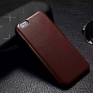 iPhone 6 Leatherette Look And Feel In A Slim Case - Cofee Brown
