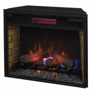 inchClassic Flame 26II310GRA 26 inch Infrared Spectrafire Plus insert  w/Safer Plug