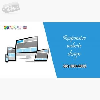 responsive website design Houston